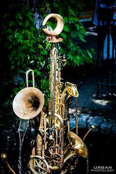 Recycled Art - Instruments by jomarsantos1, via Flickr
