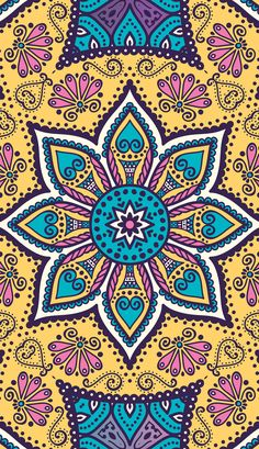 Lovely Boho Mandala Vol. Hippie Wallpaper, Abstract Iphone Wallpaper, Cute Wallpaper Backgrounds, Wallpaper S, Pattern Wallpaper, Beautiful Wallpapers For Iphone, Cute Wallpapers, Canvas Frame, Canvas Wall Art