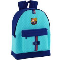 FC Barcelona Rugzak turquoise 43 x 32 x 15 cm - polyester  #cadeau #premierleague #voetbalkids #voetbal #laliga