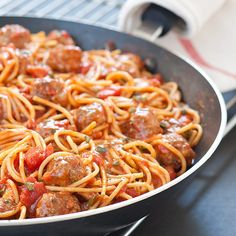 Weeknight Spaghetti and Meatballs Recipe - Cook's Country