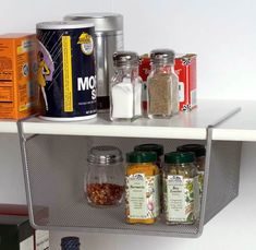 A great space saving item to give you extra space in those voluminous kitchen cupboards...