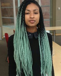 cool 35 Gorgeous Senegalese Twist Styles – Choose the Best One for You Check more at http://newaylook.com/best-senegalese-twist-hairstyles-ideas/