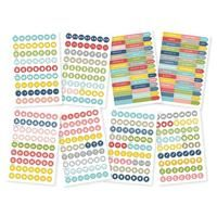 Simple Stories - SN@P! LIFE DOCUMENTED / CALENDAR STICKERS - samolepky - 8 ks