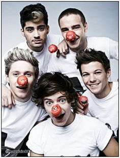 one direction, Red Nose Day - One Direction Photo (33477842) - Fanpop