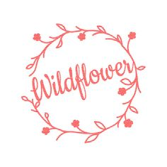 Wildflower Instant Download Cutting File SVG by CraftyLittleNodes cricut explore silhouette cameo cutting files for cutting machines commercial use available