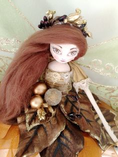 Christmas Tree Top Fairy - Copper, Bronze & Gold by FabulousFairyFactory on Etsy
