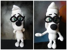 This crochet amigurumi character is so much fun. Mr. Peabody - Media - Crochet Me