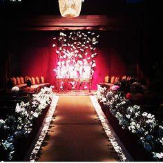 cerimonia sensorial...impecável! complements + pedrotti flores - unique hotel