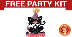 Free Bad Kitty Party Kit