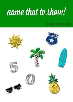 Name That TV Show (Answer: Hawaii 5-0) www.brandieyost.origamiowl.com