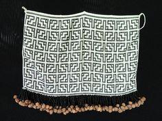 Tiriyó-kaxuyana beadwork. Memorial dos Povos Indígenas, Brazil.