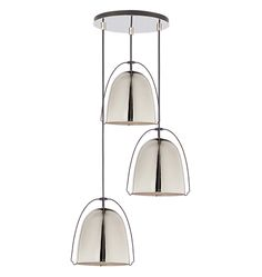 Haleigh 8in 3-Light Multipendant 12in Round