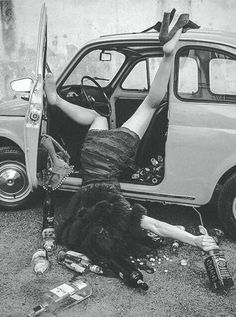 Drunk! #BlackAndWhite #Photography