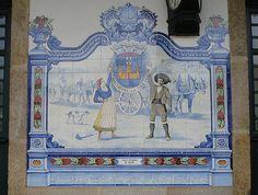 Painel de Azulejos: Trajes Regionais de Marvão - Marvão-Beirã