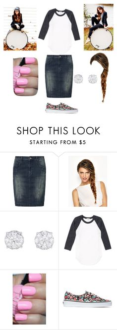 """meeting Britt Nicole"" by megansmile ❤ liked on Polyvore featuring Soyaconcept and Vans"