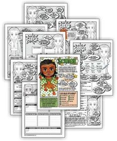 """Complete this nine-page superhero comic download and Girl Scout Juniors have earned their """"Scribe"""" badge. Exclusively from MakingFriends.com"""