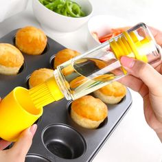 Good Quality Silicone Kitchen Tool Silicone Honey Oil Brush Bottle Cooking Baking Basting BBQ barbecue pinceis pincel pinceaux