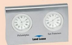 Two Time Zone Clock