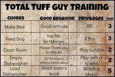 Total Tuff Guy Training for Tween Boys | Alida Makes