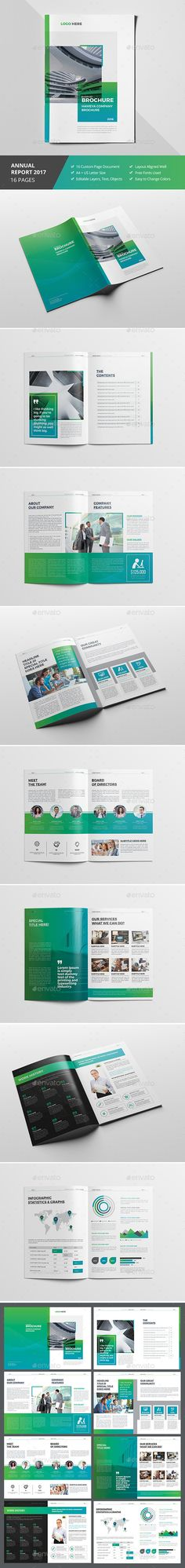 Company Profile Template Company profile, Brochure template and - booklet template free download