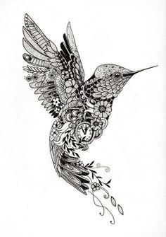 """Tattoo template """"Hummingbird""""- Tattoo-Vorlage """"Kolibri"""" Tattoo design of a . - Tattoo template """"Hummingbird""""- Tattoo-Vorlage """"Kolibri"""" Tattoo design of a hummingbird of - Hummingbird Flower Tattoos, Hummingbird Drawing, Tattoo Bird, Hummingbird Quotes, Hummingbird Symbolism, Hummingbird Pictures, Hummingbird Tattoo Meaning, Mum Tattoo, Hand Tattoo"""