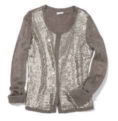 Shae Sequin Cardigan #gifts #chicos #HolidayFeeling