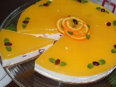 Cheese cake reteta cu crema de iaurt si jeleu de portocale - Retete dupa ingrediente