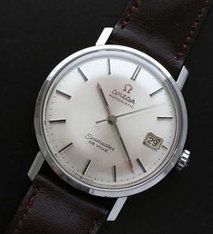 Vintage Steel Omega Seamaster DeVille with date circa 1967. - Used and Vintage Watches for Sale