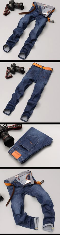 Aliexpress.com : Buy Mens Brand Jeans Autumn Blue Denim Jean Designer Slim Stretch Jeans Cotton Jean Pants Trousers For Men from Reliable trouser designs suppliers on Trending Jewelry