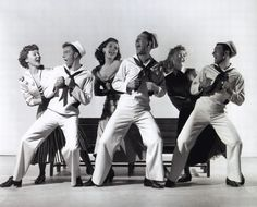 Publicity shot for On The Town (Gene Kelly & Stanley Donen, 1949)
