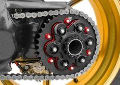 Duc Shop Tirol - CNC Racing Kettenrad Schnellwechsel Adapter Ducati Diavel, Multistrada 1200, 1098, 1198, Streetfighter 1098 S