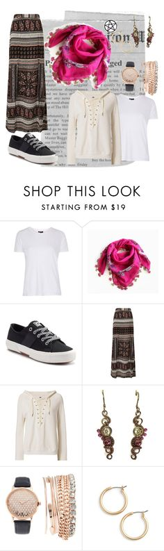 """""""Lazy day"""" by changingwinds ❤ liked on Polyvore featuring Topshop, Chaps, Miss Selfridge, NSF, Jessica Carlyle, Nordstrom and Marina Fini"""