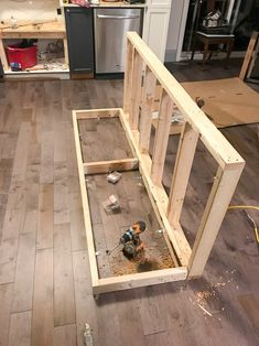 How to Build a DIY Kitchen Island   House by the Bay Design