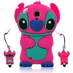 size 40 7d7e5 cacd0 Disney 3D Cute Cartoon Silicon Soft Cover Case for Samsung Galaxy S4 ...