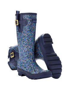 WELLYPRINT Women's Printed Rain Boot Wellies size 9 available at joulesusa.com $75.00