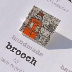 BROOCH Big Ben by artyadz on Etsy, £4.95