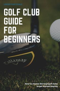 The ultimate guide to choosing golf clubs for beginners. These tips for beginners to select the best clubs for them will get you out playing on the course and learning the sport in no time. Best Golf Club Sets, Best Club, Golf Clubs For Beginners, Mens Golf Clubs, Golf Gadgets, Wilson Golf, Golf Books, Best Golf Courses, Golf Instruction