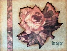 WOW!  Tapestry Leaf by BobbiesGirl - Cards and Paper Crafts at Splitcoaststampers