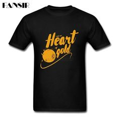 >> Click to Buy << Funny Shirt Men's Heart Of Gold Men T-shirt Short Sleeve Crewneck Cotton Group Clothing #Affiliate