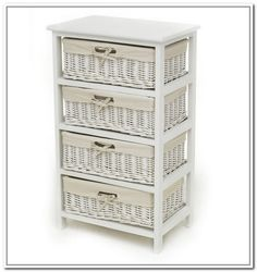 Images Photos Wicker basket wall storage system