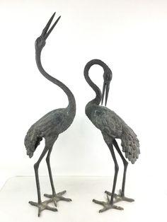 Bronze Crane Sculptures JULY 8, 2017