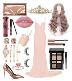 """""""Queen & Rose Gold"""" by colors-and-nerdyness on Polyvore featuring STELLA McCARTNEY, Alexander Wang, Anne Klein, Carolee, Lime Crime, Kylie Cosmetics, Essie, BillyTheTree and Bobbi Brown Cosmetics"""