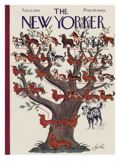 The New Yorker Cover - February 12, 1938  I will get this once i start my new job!