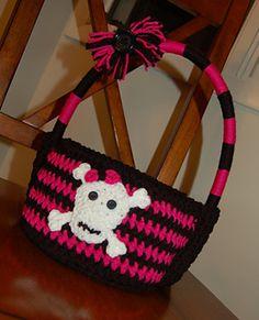 """Fun Punk"" Easter Basket Monster High Inspired by Jennifer Pionk"
