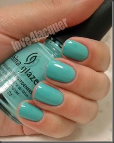 china glaze aquadelic- Have got to try this, keep reading about it.
