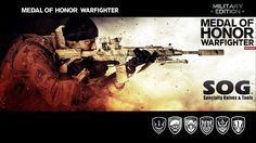 Medal Of Honor Warfighter Weapons wallpaper.