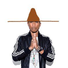 Draw Pharrell A New Hat
