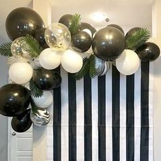 Light Pink and Gold Balloon Garland Kit - DYI 56 piece set Marble Balloons, Gold Confetti Balloons, White Balloons, Engagement Decorations, Graduation Decorations, Christmas Party Decorations, Black And White Party Decorations, Decoration Birthday, Decoration Photo