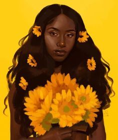 🎼 didya think - Arlie Real busy with portfolio stuff at the moment? So here's a photo study from one of my pins on… Black Girl Art, Black Art, Art Sketches, Art Drawings, Guache, Digital Art Girl, Afro Art, Magic Art, Dope Art