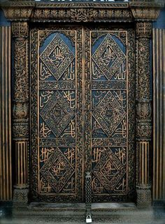 Architecture door gate